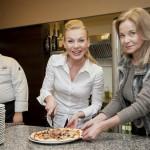 Pieczenie pizzy z gwiazdami